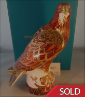 "Royal Crown Derby Paperweight ""Golden Eagle"""