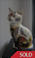 Royal Crown Derby Paperweight - Fireside Cat Limited Edition