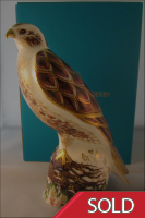 Royal Crown Derby Paperweight - Buzzard Limited Edition