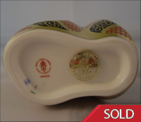 Royal Crown Derby Paperweight - Old Imari Snake