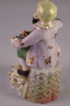 Royal Crown Derby Figure - Fruit Seller