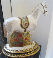 "Royal Crown Derby Paperweight - ""Show Pony"" Rare"