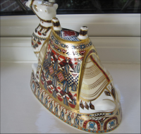 Royal Crown Derby Paperweight - Camel