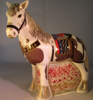 Royal Crown Derby Paperweight - War Horse Limited Edition