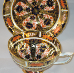 Royal Crown Derby Imari Tea Cup and Saucer