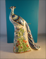 "Royal Crown Derby Paperweight ""Manor Peacock"""
