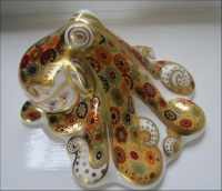 Royal Crown Derby Paperweight - Octopus