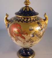 Royal Crown Derby Globe Shape Vase and Cover