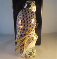 Royal Crown Derby Paperweight - Peregrine Falcon